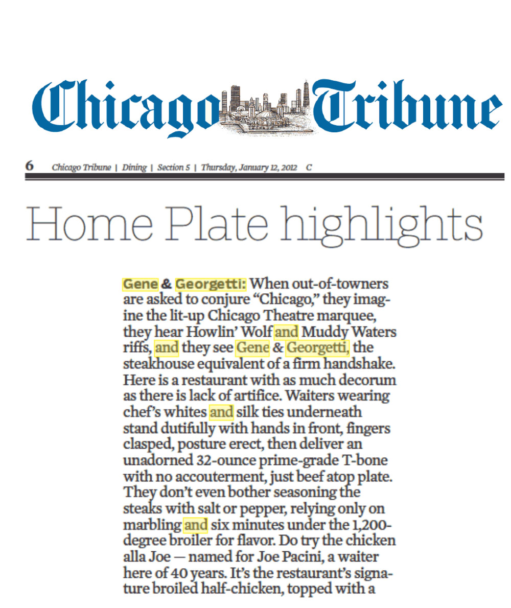 ChicagoTribune_GeneGeorgett_Jan2012