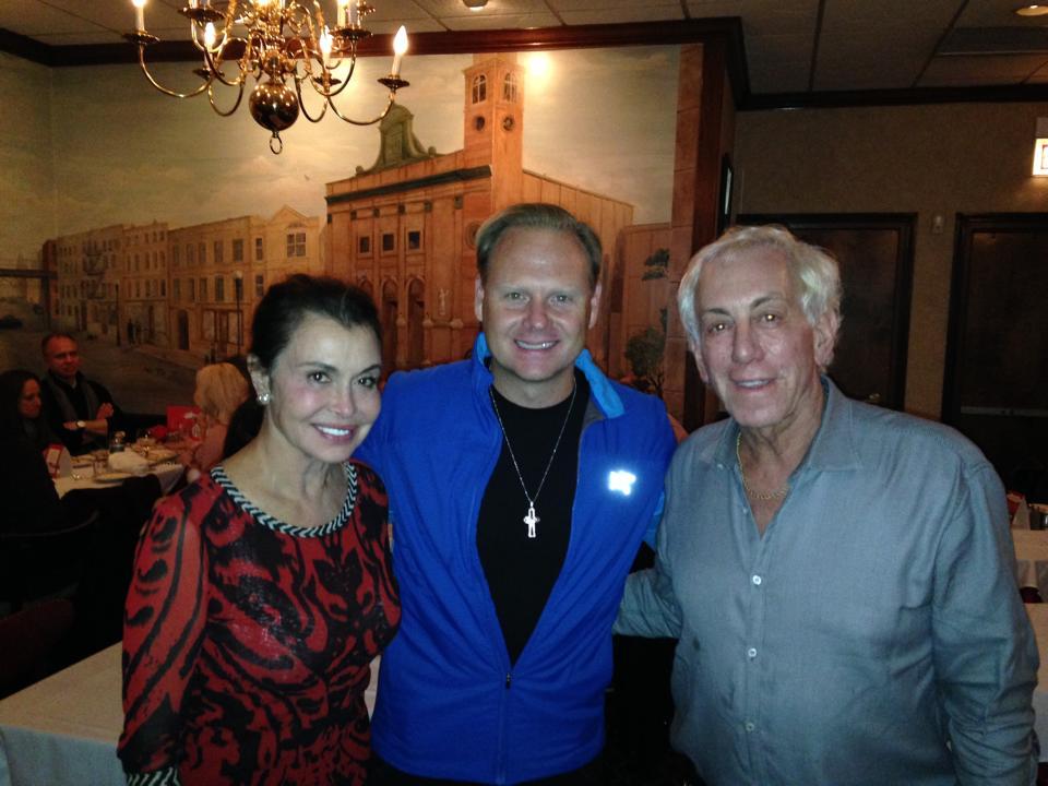 Nik Wallenda dines at Gene and Georgetti