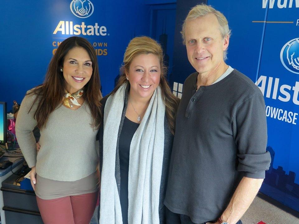 Michelle talks on WGN radio, Gene & Georgetti