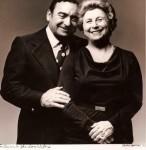 Gene and Ida, a portrait to celebrate their 45th wedding anniversary. Photo taken by legendary photographer Victor Skrebneski