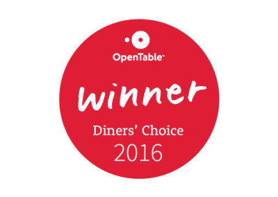 OpenTable : Gene and Georgetti Receives the 2016 Diner's Choice Award!