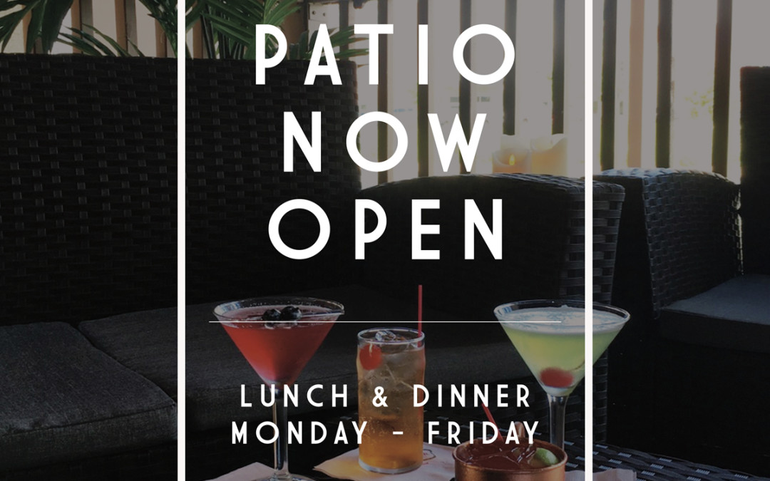 Patio Season Is In, Rosemont Patio Now Open