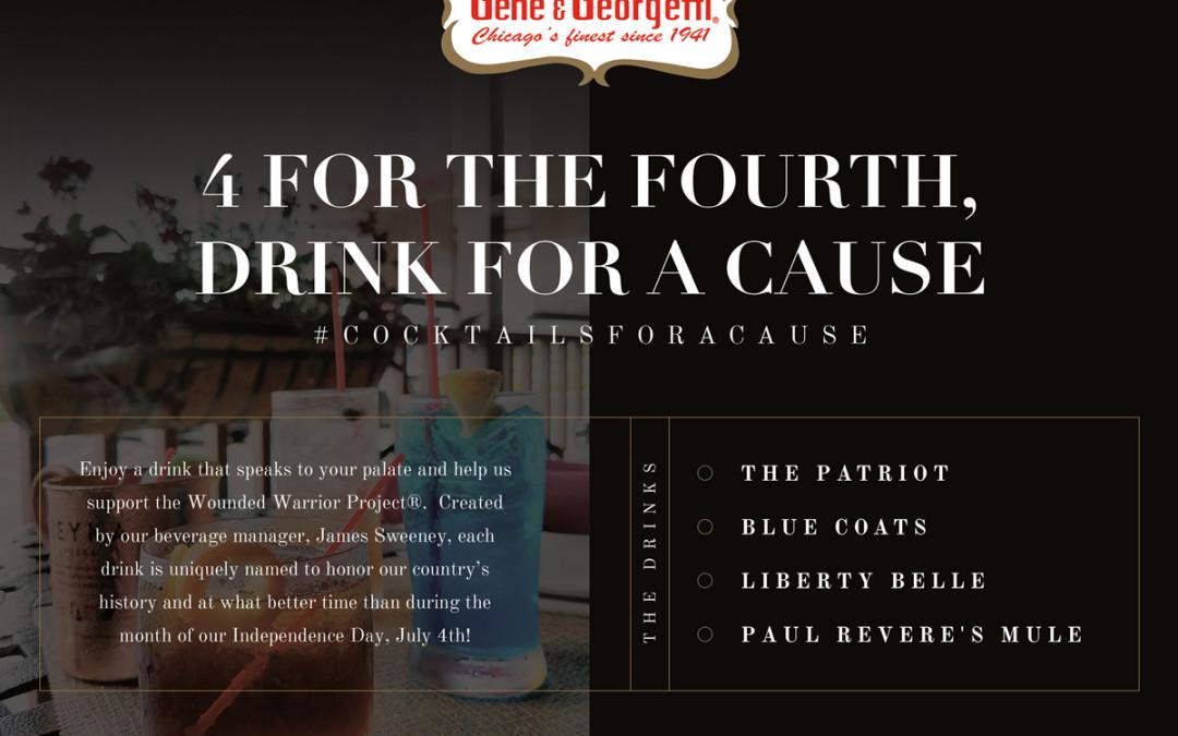 #CocktailsForACause