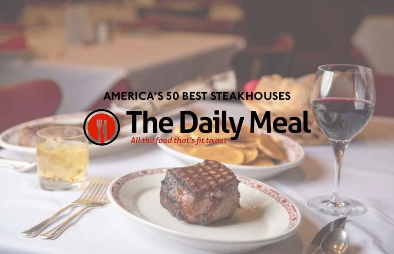Named One Of America's 50 Best Steakhouses!