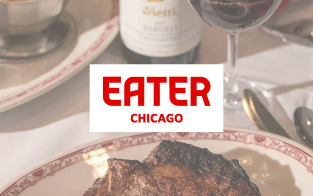 Gene & Georgetti is one of Chicago's 20 Essential Steakhouses