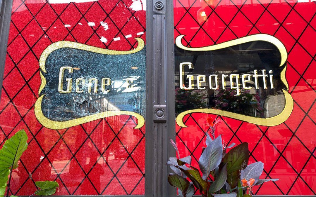 WGN News Radio: River North's Gene & Georgetti slammed again by looters