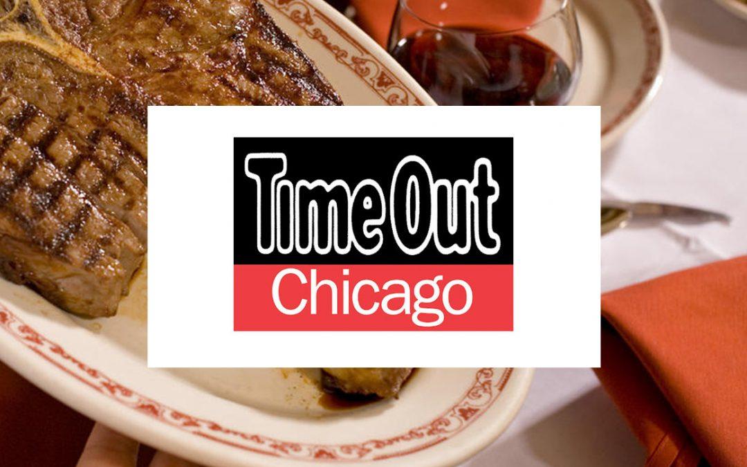 Named One of Chicago's Best Steakhouses